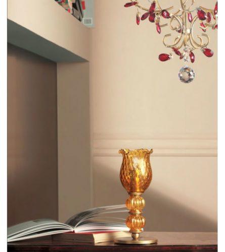 Настольная лампа 9001/1 P (асфор)