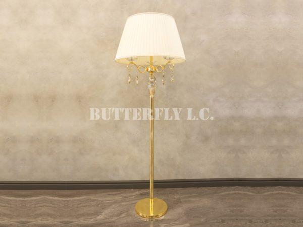 Торшер 102/3F Gold