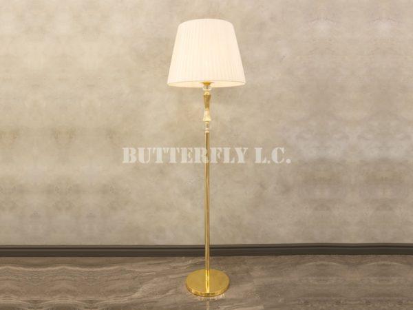 Торшер 1021/1F Gold