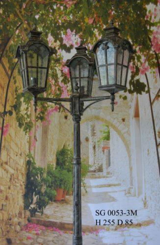 Уличный фонарь столб SG0053-3-М