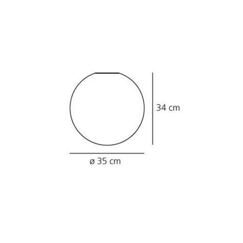 Настенный/Потолочный светильник 0116010A