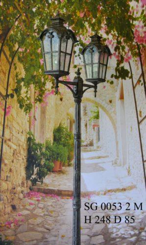 Уличный фонарь столб SG0053-2-М