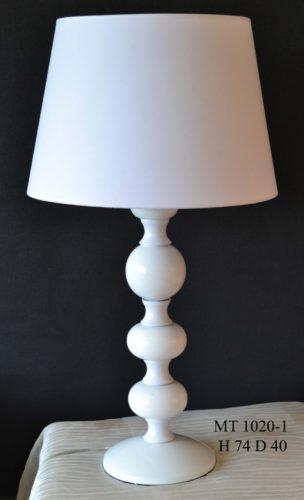 Настольная лампа 1020/1 (белая)