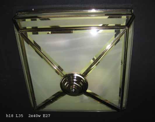 Люстра BL-C140047 (квадрат/мат. стекло)