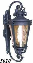 Уличный фонарь бра 5010 (ковка/темнокоричневый)
