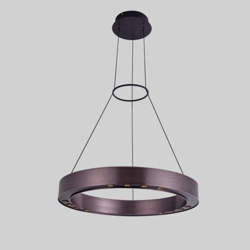 Подвесной светильник P0080-600A Dark Coffee and Black
