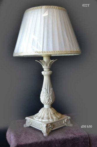 Настольная лампа 022 T (белый)