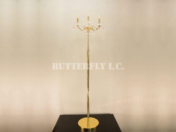 Торшер 8800/3+1F Gold