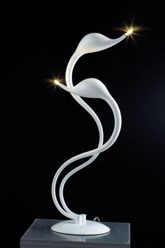 Настольная лампа МТ 2445/2 (белая)