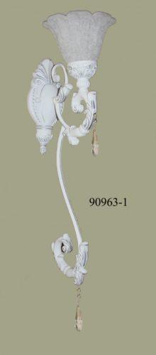 Бра классический 90963/1 (белая ковка)