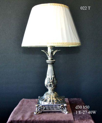 Настольная лампа 022 T (черн. серебро)