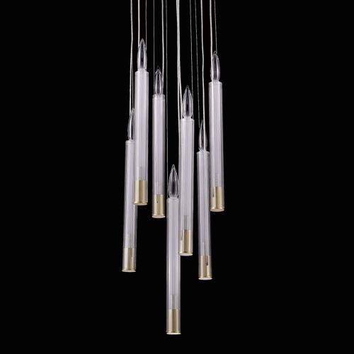 Подвесной светильник P68094-7 brass