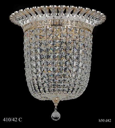 Люстра 410/42 C (золото/серебро)