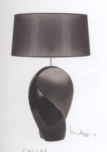 Настольная лампа L.C0337K1B-K7 Callas (black)