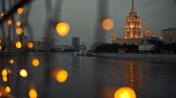 Около 20% наружного освещения Москвы переоборудовано на светодиодное
