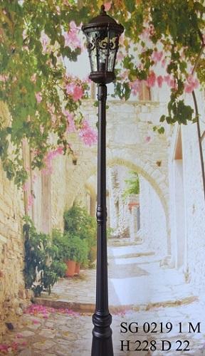Уличный фонарь столб SG0219-1-М