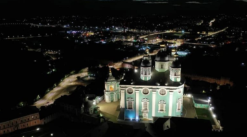 Свято-Успенский кафедральный собор в Смоленске засиял новым светом