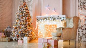 Создание Новогодней атмосферы с помощью ламп освещения